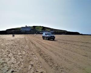 アガサクリスティーのゆかりの地、Burgh Island でお散歩。