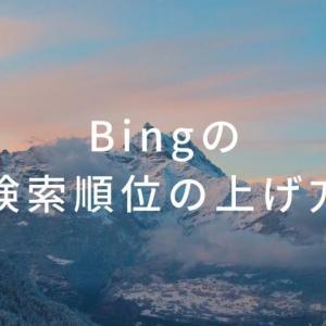 【実績あり】初心者でもBingで検索順位を上げる方法を考察する