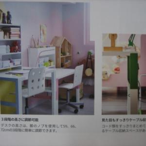 IKEA(イケア)の子供机に合う棚を作ってみました DIY 作品NO.4