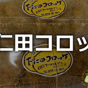 【独特】下仁田こんにゃく観光センターで下仁田コロッケを買って食べた。