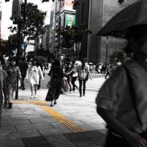 銀座散策、街スナップ写真