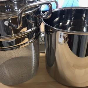 湯切りも簡単!燕三条宮崎製作所の中子付きジオ パスタ用鍋