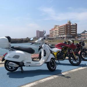房総半島のバイク旅行三日目は御宿から鴨川、野島崎灯台経由で房総半島を一周しました
