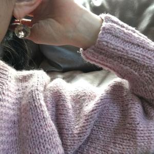 セーターの季節到来