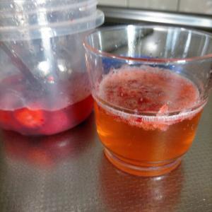 【暑い夏にオススメのドリンク】自家製フルーツシロップの炭酸割り