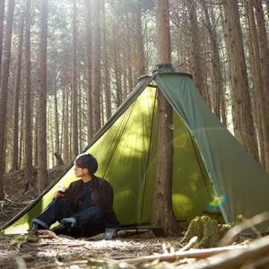 DODから木に巻き付けるテント「トゥリーラブ」登場