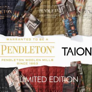 ペンドルトン×タイオン コラボ商品がラインナップを拡大して登場