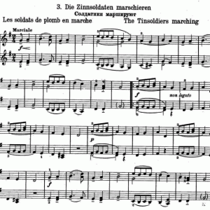 プチ練習No.23 Gretchaninov Op.98 No.3 March