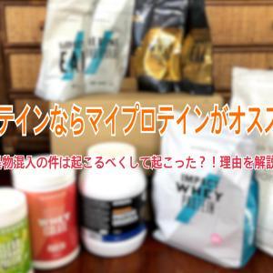 プロテインを買うならマイプロテインをオススメする理由!今回の問題に海外と日本の考え方に違いがはっきり出ている?!