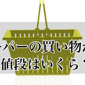 【スーパーの買い物かご】販売価格・値段はいくら?