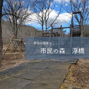 伊豆の国市「市民の森 浮橋」公園へ行きました。