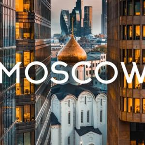 Moscow Russia Aerial