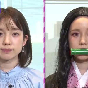 【画像】有名人の禰豆子コスプレ集めたが、どれも似合いすぎて萌える!