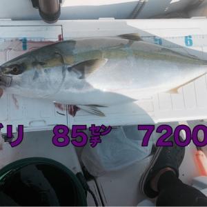 9月23日大潮4日目 U船長と友ヶ島沖へ船釣りDAY