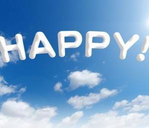 幸せを感じるために、楽観的に考え、広い視野を持ちたい