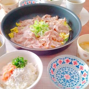 15分で作った昼食(1/10sun)