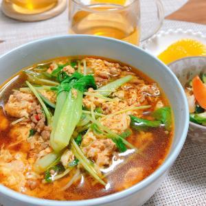 市販の辛麺(1/13wed)
