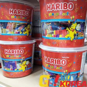 ハリボー メガパーティーミックス 1kg 大容量 | HARIBO 海外コストコ