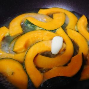 9/22(水)かぼちゃのバター炒め