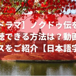【韓流ドラマ】話題のノクドゥ伝を無料で全話視聴できる方法は?おすすめの動画配信サービスをご紹介【日本語字幕】