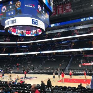 海外スポーツの現地観戦:NBA 2018&2020 (ワシントン) その2