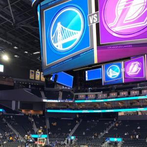 海外スポーツの現地観戦:NBA 2019 (サンフランシスコ) その2
