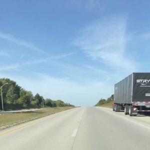 アメリカでドライブ4  高速道路
