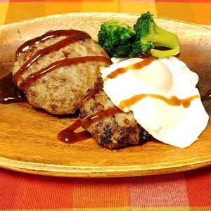 玉ねぎと豚挽肉だけで作る【簡単ハンバーグ】レシピ!