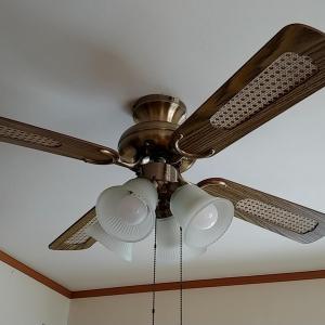 シーリングファンでどんな部屋でもオシャレなカフェ風にドレスアップ♪空気の対流で快適生活。