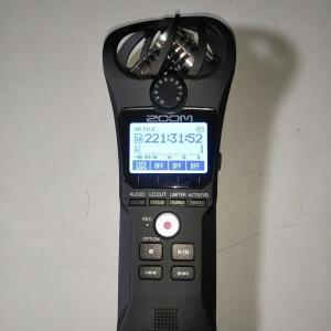 バイクの排気音をZOOM H1nで録音する【排気音のサンプルあります】