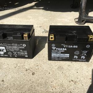 バンディット1250Sのバッテリーを交換【2021年4月】