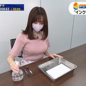 森香澄アナのWBS巨乳おっぱい