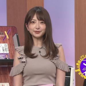 レポーター羽田優里奈のピチピチすぎるおっぱい