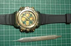 懐かしい腕時計を復活させてみました(^-^)