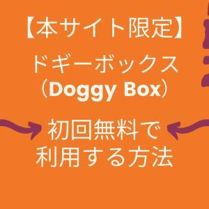 【本サイト限定】ドギーボックス(Doggy Box)を初回無料で利用する方法