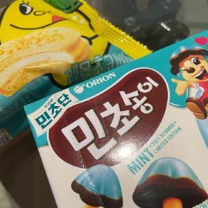 韓国コンビニの新商品は??