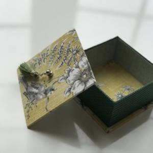 生徒さんの作品 シャポースタイルの箱