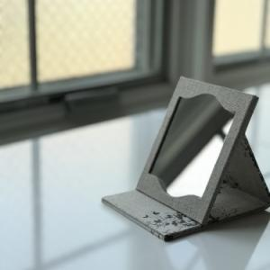 折りたたみ携帯ミラー サンプル作り直し