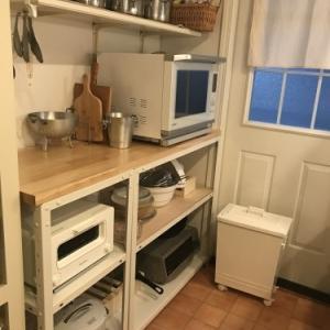 キッチン改造のこと ① ~エレクターもどきからキタジマさんのスマートラックへ~