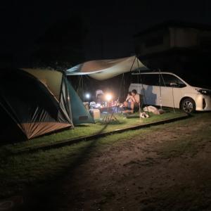 障害を持つ娘と一緒にオートキャンプ行ってみた! in 九十九里シーサイドオートキャンプ場