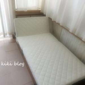 折りたたみベッドを購入