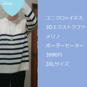 ユニクロ×イネスのセーター着てみました