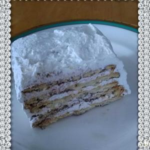 超簡単ビスケットケーキ