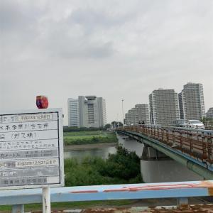 ガス橋→丸子橋→多摩川大橋→ガス橋