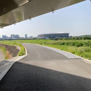 鶴見川 鷹野大橋~日産スタジアム