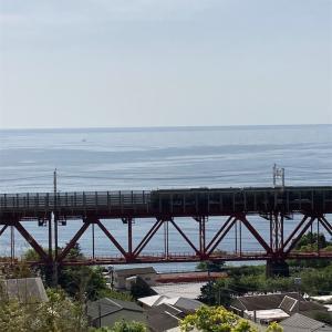 根府川橋梁、真鶴半島、湯河原で温泉(21年5月)