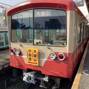 伊豆箱根鉄道大雄山線に輪行