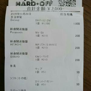 片付け (合計売却額¥15,020)