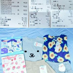 食費¥3,570(累計¥8,780)  外食費¥938(累計¥1,090)  衣料費¥2,633