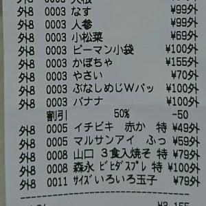 9月食費4 ¥3,407(累計¥12,187)